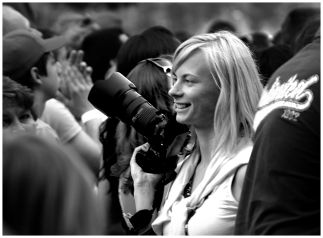 ... fotografka ...