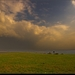 Oblaky a lúka