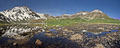 Jazero v v údolí Jergez