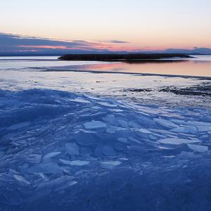 Zimný západ slnka 2