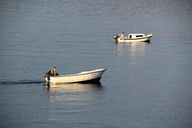 starý rybár a more