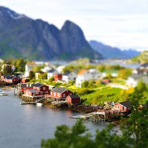 Reine, Lofoty, Norsko