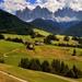 Život pod Dolomitmi