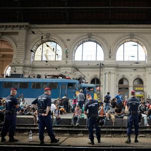 Keleti pályaudvar Budapešť 05