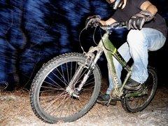 forest biker