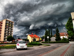Búrka nad Prievidzou 21.jun 2011