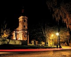 Nitrianske Sučany - Kostol, trho
