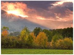 Západ Slnka nad Betliarom