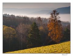 Jesenné ráno nad Betliarom