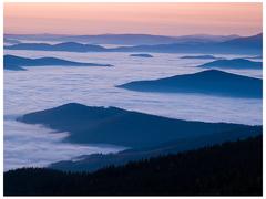 Na hory padá súmrak
