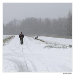 Zima na hrádzi
