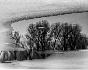 Zima na hrádzi ...