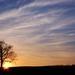 západ slnka v Rudníku