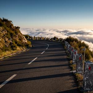 highway over clouds