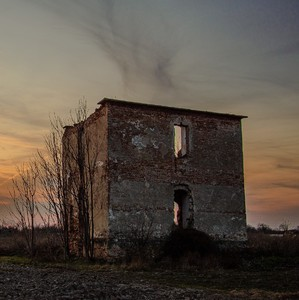 Výlet duchov pri  západe slnka..