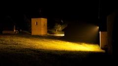 noc v Martinskom skanzene