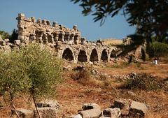 starobilé mesto Side v Turecku 2