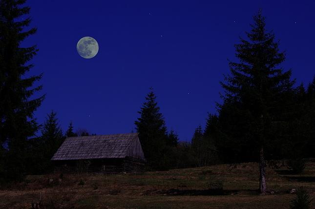 Večer na samote