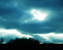 Krajina v modrom šate