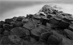 Giant's Causeway  B&W