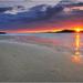 Zapad slnka na Silver strand