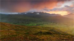 Farebne rano nad  black valley