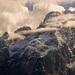 mraky v Dolomitech