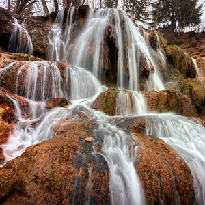 -Lučanský vodopád-
