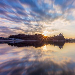 -Hypnotic sunset-