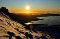 Mrazivy zapad slnka