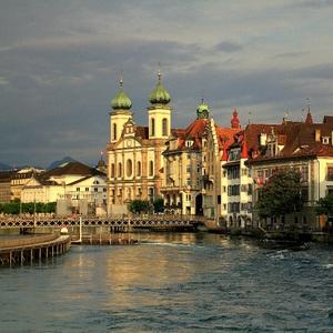 Podvečerný Luzern