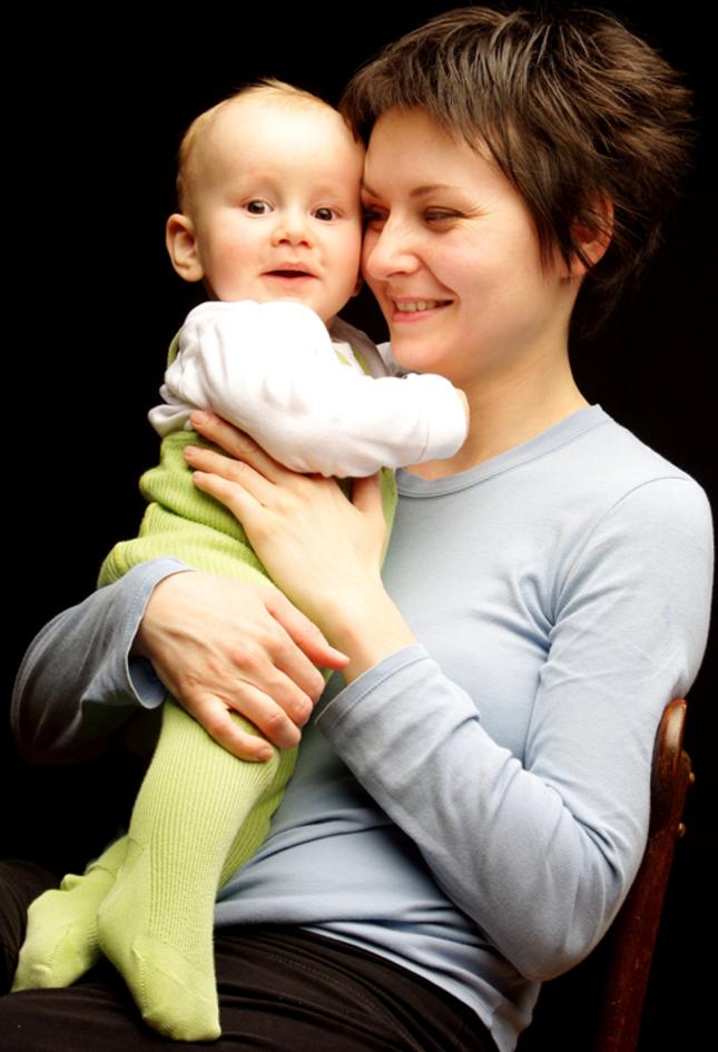Mamka a syn
