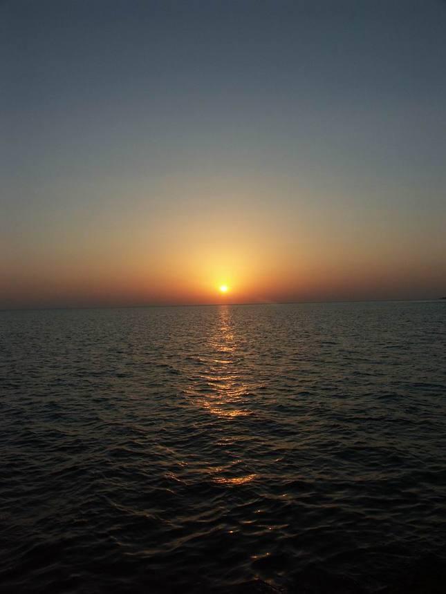 Západ slnka nad morom