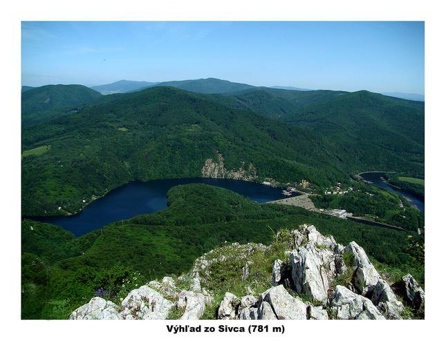 Výhľad zo Sivca (781 m)