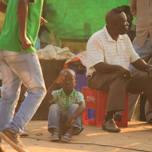 Africké dieťa