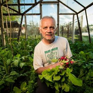 V skleníku...