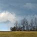 jarné mraky