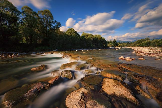 krajina a vody podtatranské