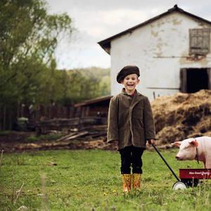 Na farme...
