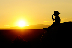 môj malý cowboy :-)