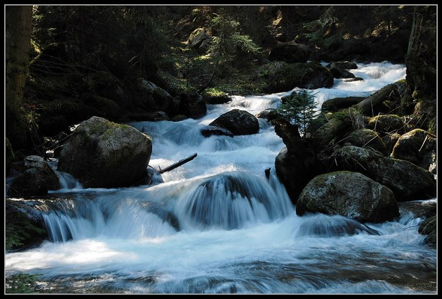 Demänovka, jarné vody
