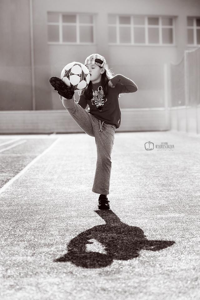 We love football!