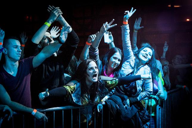 Na koncerte