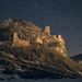 Hrad Lednica v noci
