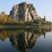 Hrad Devín z rieky Moravy