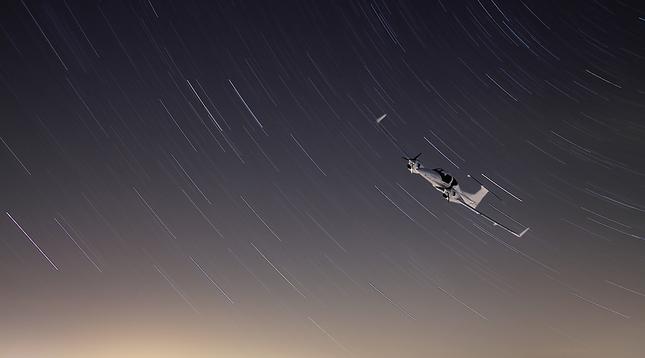 hviezdne lietadlo