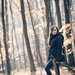 na prechadzke v lese