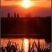 Sundown over the lake