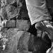 Špičkou v skale ...