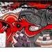 umelecké graffity